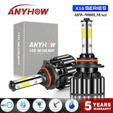 ANYHOW 9006 HB4 9012 HIR2 LED 120W Headlight Conversion Kit High Low Beam Bulbs