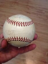 Baltimore Orioles Signed Baseball From '50's And '60's