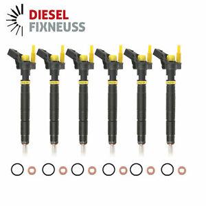 6x Injektor 0445115054 0445115039 059130277AC 059130277AJ Audi VW 2,7 TDI