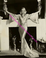 CAROLE LOMBARD DRAMATIC AND ALLURING IN A SEXY EVENING GOWN 8X10 PHOTO A-CL5