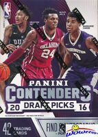 2016/17 Panini Contenders Draft Picks Basketball Sealed Blaster Box-2 AUTOGRAPHS