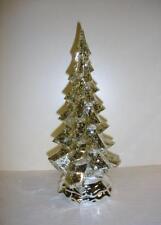 "New 10"" Acrylic LED Light Christmas Tree Ornament"