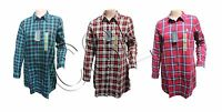 WOMEN'S US POLO ASSN LONG SLEEVE CHECK LONG SHIRT/TOP. CODE- W-22