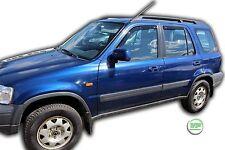 Dho17113 HONDA CR-V CRV mk1 1997-2002 deflettori del vento 4pc HEKO colorata