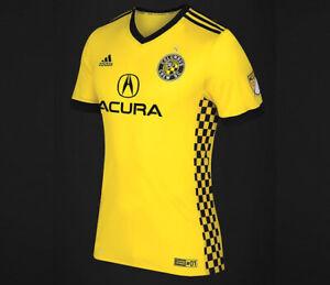 Adidas MLS Columbus Crew SC Jersey Yellow/Black DH3822