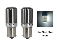 BA15S LED Ampoule P21W 144 SMD Chrome Blanc Veilleuses Feux de jour Voiture