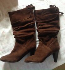 Stivali Scamosciati - suede boots woman shoes