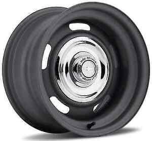 US Wheel 54-5034L Single 15x10 Rallye -32MM Offset Paint Ready Steel Wheel