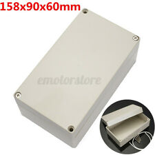 """6.2"""" x 3.5"""" x 2.3'' Electric Enclosure Project Box HOBBY CASE Waterproof ABS"""