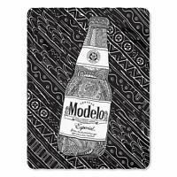 Modelo Cerveza Especial Beer Alcohol Mexico Mexican Fleece Throw Blanket NEW