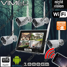 IP Security Cameras System Wireless 1TB Farm Home Motion Activation Night Vision