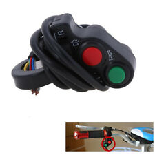 "7/8""3in1 Head Light Switch Horn Turn Signal ON/OFF Motorcycle E-bike ATV Scooter"