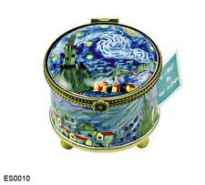 KELVIN CHEN Enamel Copper STAMP Dispenser Holder - Starry Night by VAN GOGH