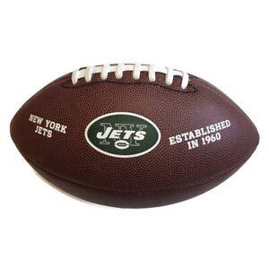 NFL New York Jets Wilson Composite Football Established in 1960 NY Team Logo