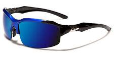 Nuevo Arctic Blue Deportes Diseñador para Hombre UV400 Negro-Azul Gafas de sol 10