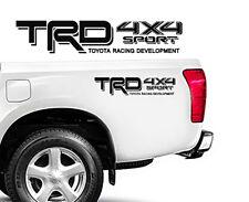 """TRD Toyota 4x4 Sport Truck Tacoma OSport Vinyl Decals Emblem 18"""" x 3"""""""