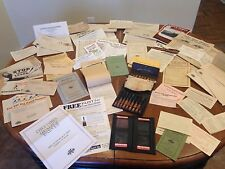 Central Petroleum Oil/Columbia Paint 75 Piece Set ~ Letters/Ads/Samples~ 1920s