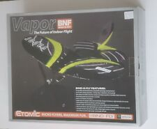 ETOMIC Micro Parkzone Vapor BNF RC Remote Control Airplane Used with Box