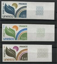 FRANCE, UNESCO OFFICIALS 1976,  IMPERFORATED, MNH