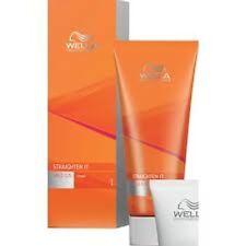 WELLA WELLASTRATE Straighten It Straightening Cream and Neutralizer Hair Mild