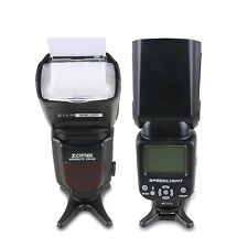 Zomei ZM430 Pro Manual Speedlite Flashlight GN56 for Canon&Nikon DSLR Camera