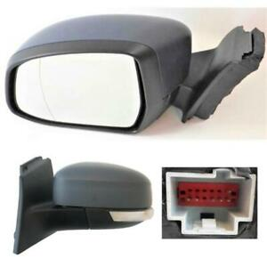 Ford Focus MK3 Door Wing Mirror Electric 2011-2017 Primed Cover Left Side