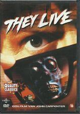 John Carpenter's They Live (1988) UNCUT DVD New