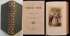H/ LES COEURS D'OR Eugène Nyon (16 gravures /dessins) Ducrocq XIXè