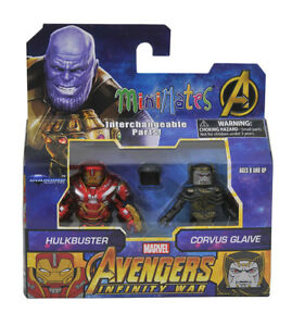Marvel Minimates Avengers Infinity War Hulkbuster And Corvus Glaive