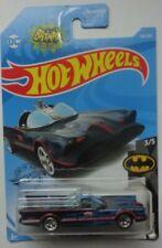 2019 Hot Wheels Batman 3/5 Tv Series Batmobile 118/250 (Blue Flames