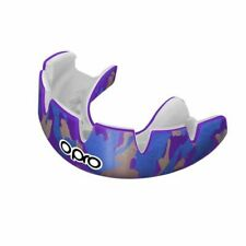 Opro Mouth Guard Power Fit Camo Purple Gold Blue Gum Shield Mma Boxing Rugby