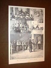 Roma nel 1891 Cucina economica per i poveri al Monte Testaccio Rarissima