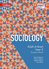 AQA A Level Sociology Student Book Year 2 by Dave Aiken (Collins)    NEW