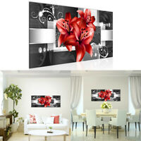 Modern Flower Canvas Painting Wall Art Home Decor Picture Decoration