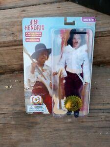 "Mego Music Jimi Hendrix 8"" Action Figure RARE Limited Edition MIAMI POP Ex Cond"