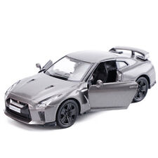 Model Cars 5 Inch Nissan GTR R35 Alloy Diecast 1:36 Toys Collection Gift Silver
