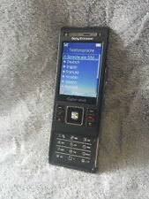 SONY ERICSSON C905 Cybershot Handy schwarz #2 C Camera mobile phone black