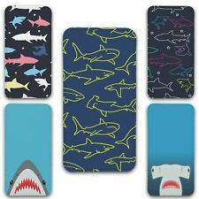 For iPhone 5 5s Flip Case Cover Shark Set 3
