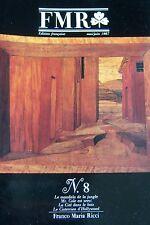 FRANCO MARIA RICCI REVUE ART FMR No 8 de 1987 MANDALA DE LA JUNGLE  HOLLYWOOD