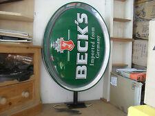 More details for becks large illuminated sign genuine becks drinking advertising light up sign