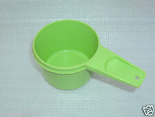 Vintage Tupperware Part Measuring Cup Apple Green 2/3 Cup Size