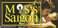 "Lea Salonga ""MISS SAIGON"" Jonathan Pryce / Simon Bowman 1989 London Postcard"