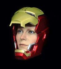 1/6 Iron Man Pepper Potts Head Sculpt Black Widow 5 Phicen Triad Hot Toys Body