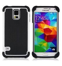 Étuis, housses et coques blancs en plastique rigide Samsung Galaxy S5 pour téléphone mobile et assistant personnel (PDA) Apple