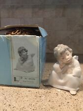 lladro thinking angel with box 4539 had since new. Excellent