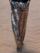 "BNWT  SASS & BIDE   ""A Grand Affair""   Gallery Metallic Sequinned Pants -Size 10"