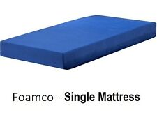 SINGLE MATTRESS FOAMCO FOAM 15CM THICK For TRUNDLE or BUNK BED AUSTRALIAN MADE