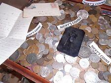 40+  PC.ESTATE LOT US COINS GOLD .999 SILVER BULLION MONEY HOARD TREASURE CHEST