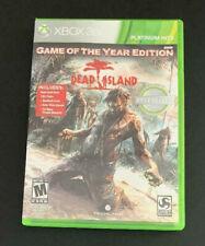 DEAD ISLAND - XBOX 360 ZOMBIE GAME (2011)