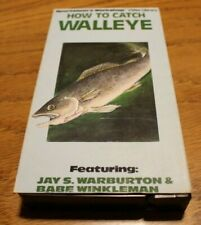 VHS How To Catch Walleye